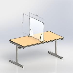 Free-Standing Desk Dividers